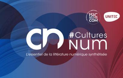 #CulturesNum 2018, les enjeux du numérique débattus entre étudiant·e·s et expert·e·s
