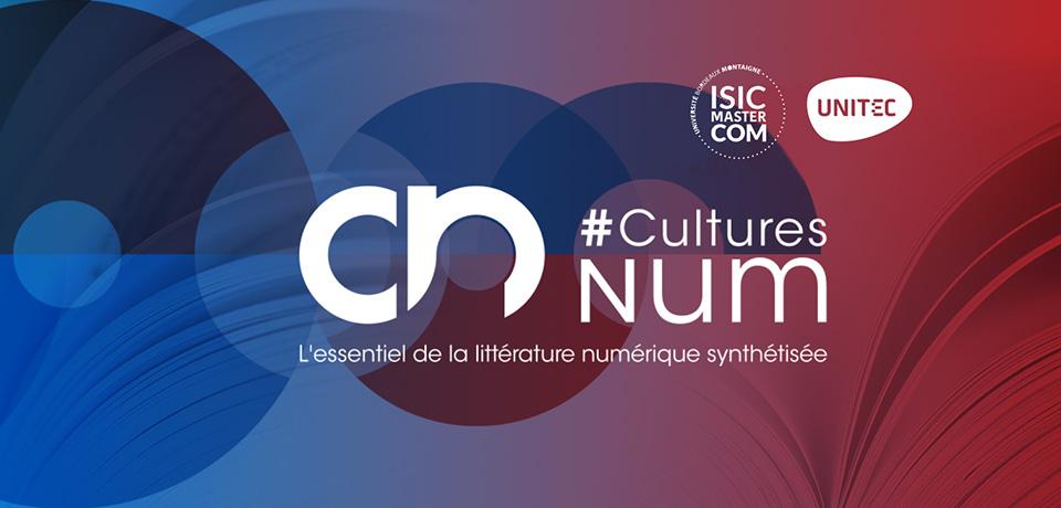 #CulturesNum 2018 : le programme et les synthèses