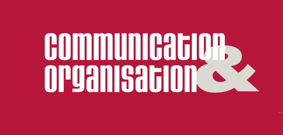 La revue Communication & Organisation