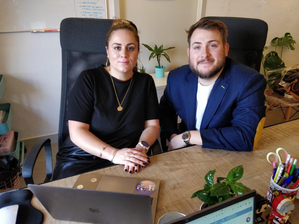 les co-fondateurs de l'agence FirstLink