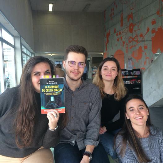 Suivi d'une équipe dans les coulisses de #CulturesNum 2020