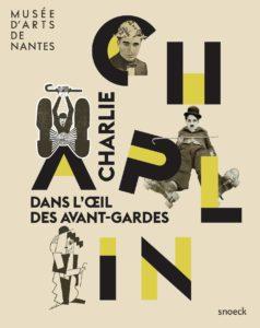 Affiche Charlie Chaplin pour le musée d'art de Nantes
