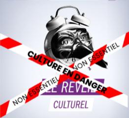 Affiche qui présente la table ronde de l'APACOM sur le reveil culturel