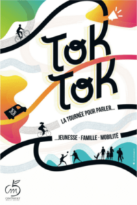 Affiche Toktok : pour les journée pour parler jeunesse, famille et mobilité